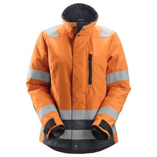 Snickers 1137 AllroundWork Talvitakki heijastimet, oranssi XS