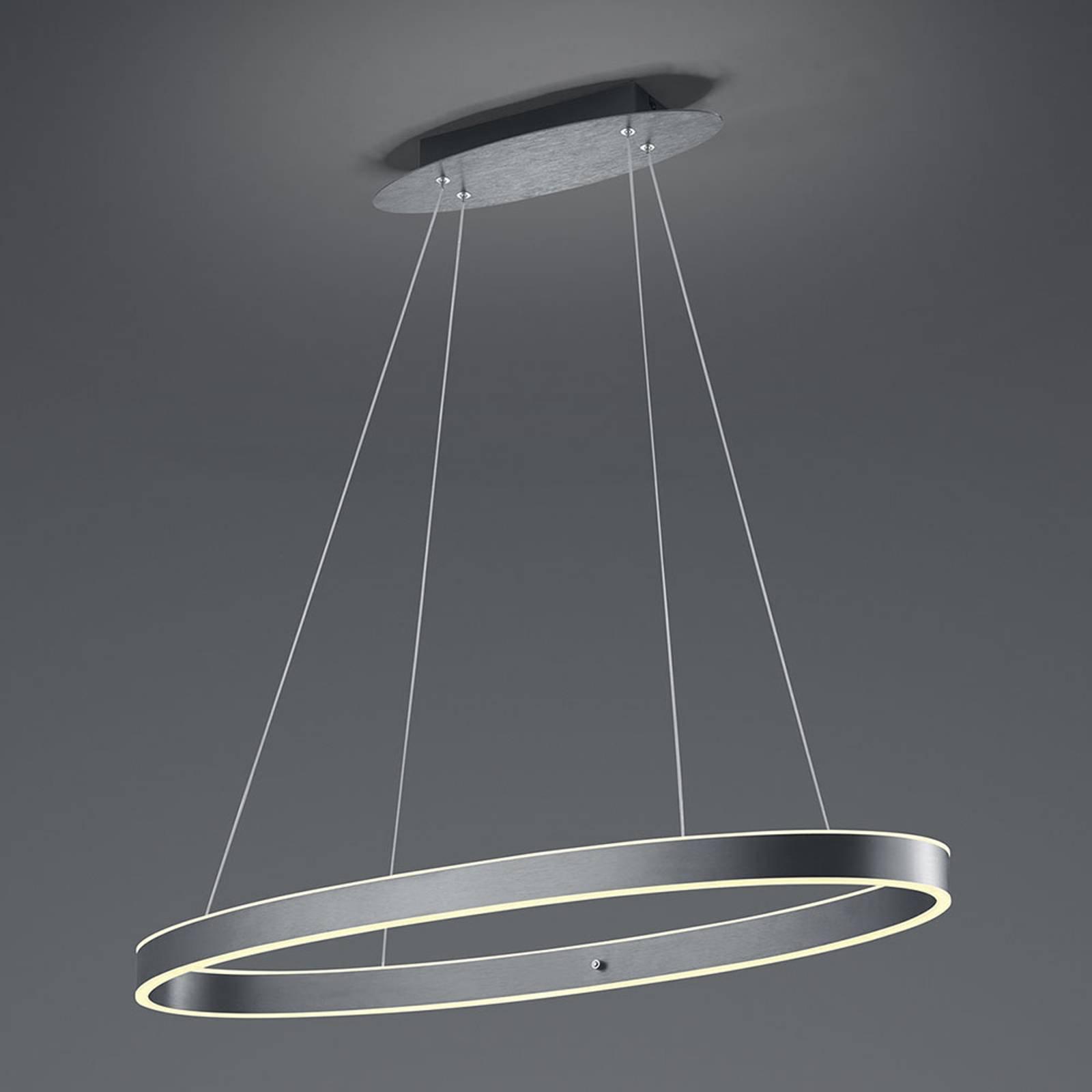 B-Leuchten Delta LED-hengelampe, antrasitt