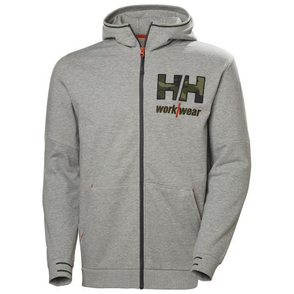 Helly Hansen Workwear Kensington Hettegenser grå/kamuflasje S