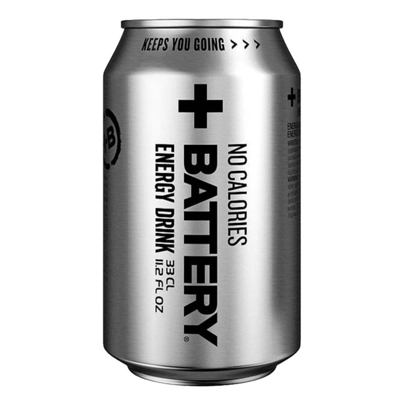 Battery Energy Drink No Calories - 1-pack