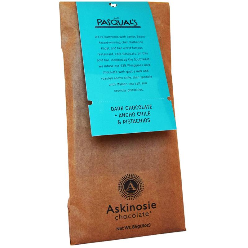 Mörk Chokladkaka Chili & Pistagenötter 85g - 78% rabatt