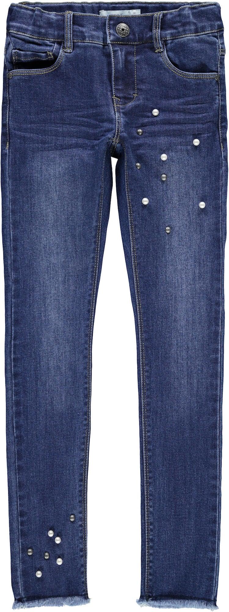 Name it Polly Jeans, Dark Blue Denim 152