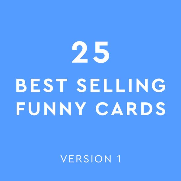 Best Selling Mix - Funny Cards Version 1