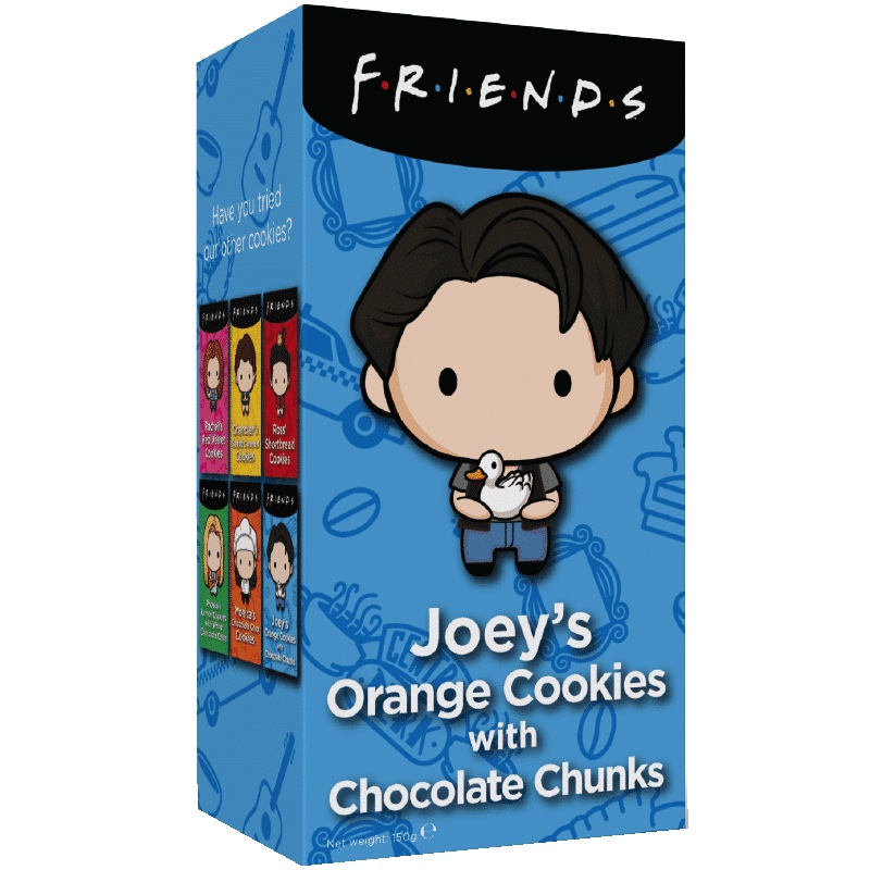 Friends Cookies - Joey's Orange Chocolate Chip 150g