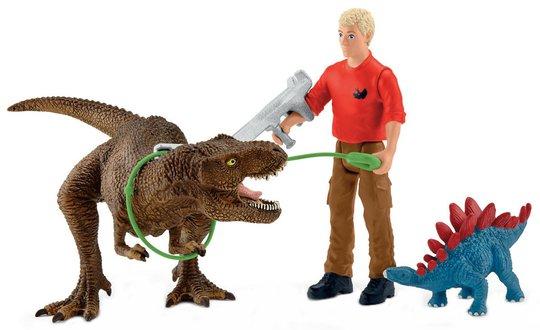 Schleich 41465 Tyrannosaurus Rex attack
