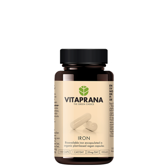 Iron, 20 mg, 100 caps