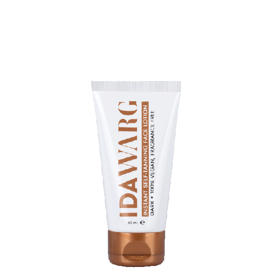 Instant Self-Tanning Face Lotion Dark, 50 ml