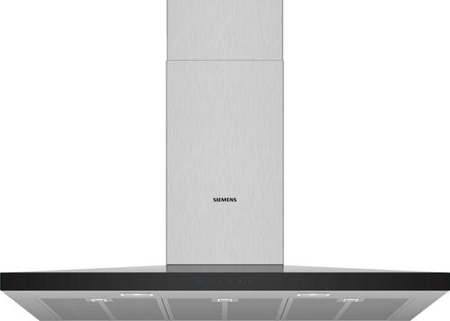 Siemens Lc97qfm50 Iq300 Vägghängd Köksfläkt - Rostfritt Stål