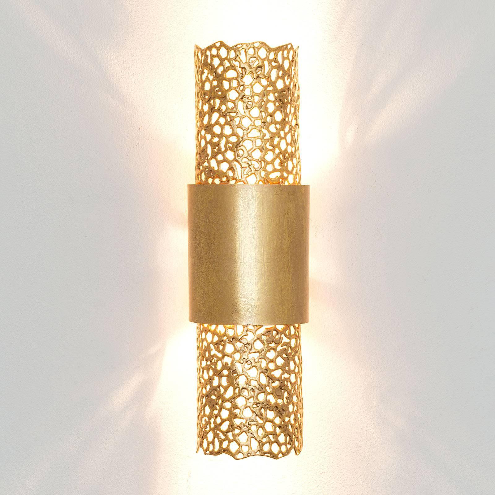 Vegglampe Palazzo, gull