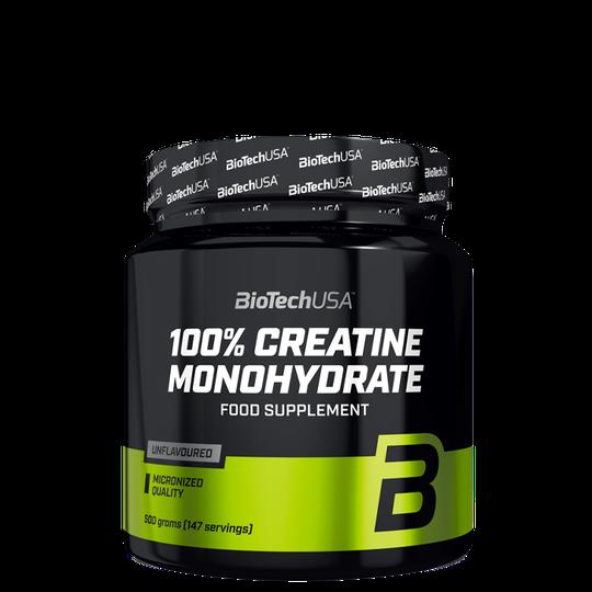 100% Creatine Monohydrate, 500 g