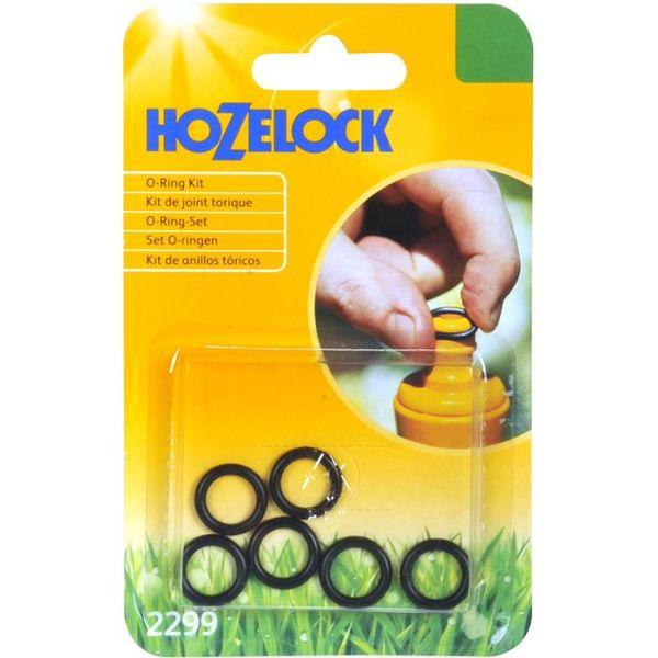 Hozelock 21-2299 O-rengassarja 6 kpl