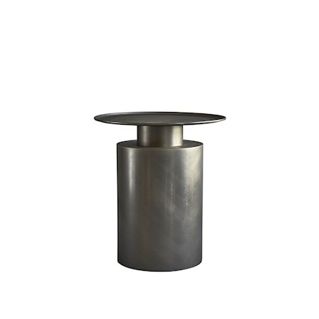 Pillar Sofabord Tall Zink