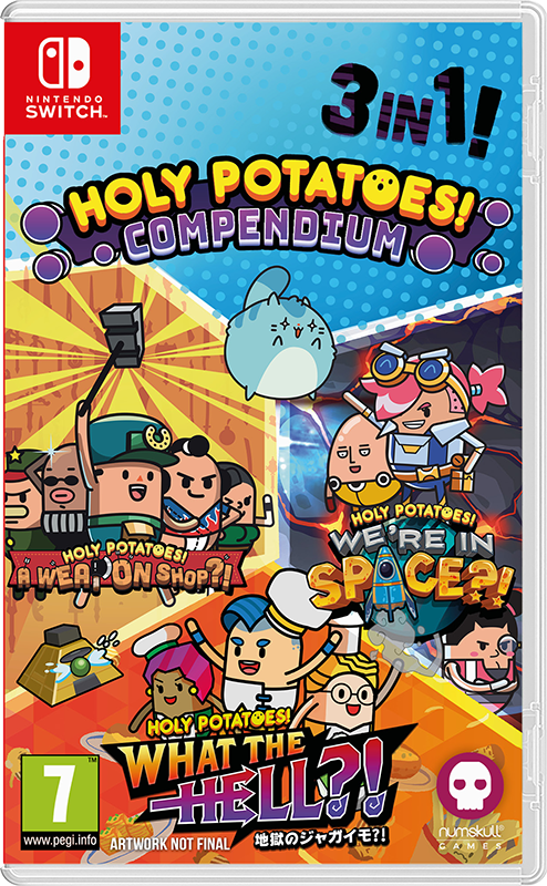 Holy Potatoes Compendium (Badge Collectors Edition)