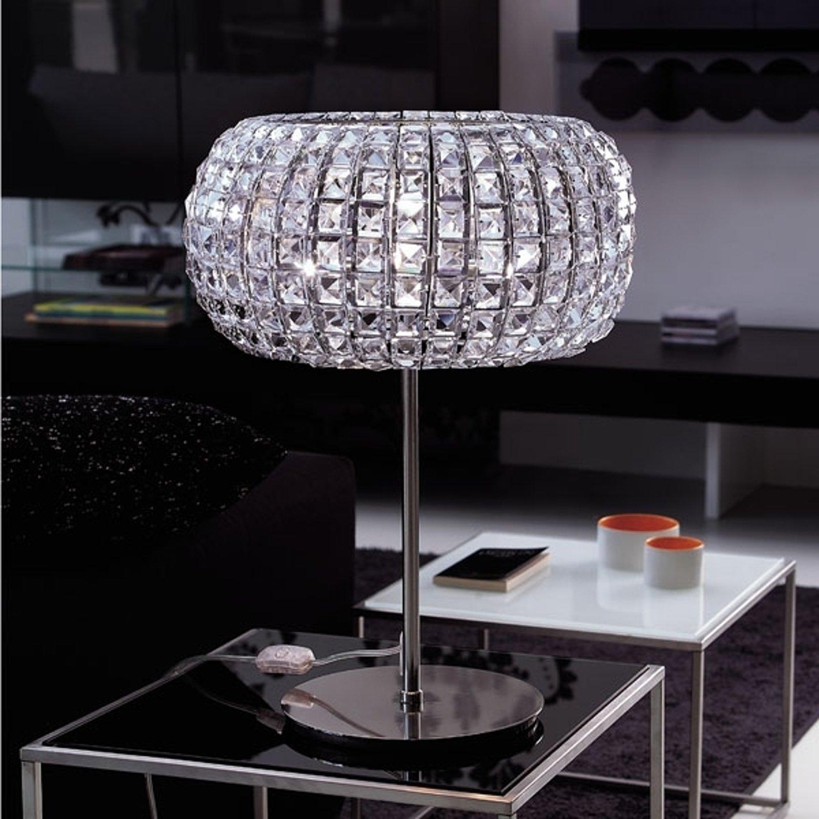 Glamorøs bordlampe NASHIRA