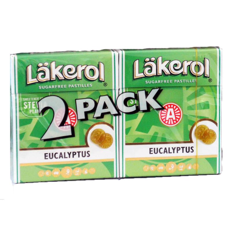 Läkerol Eucalyptus 2-Pack - 41% rabatt