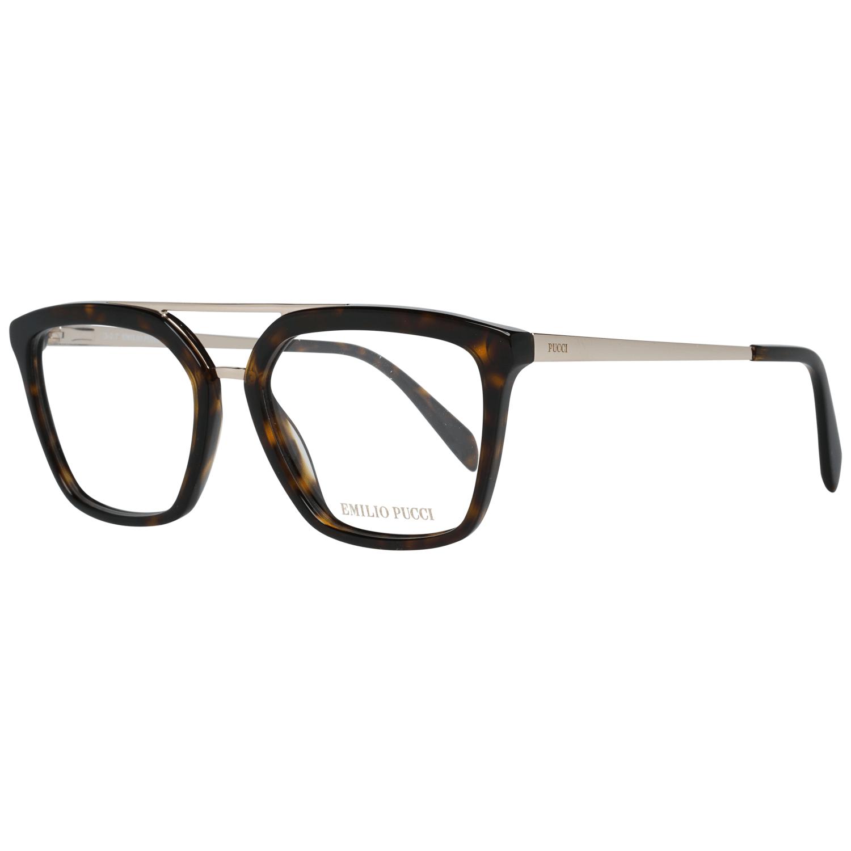 Emilio Pucci Women's Optical Frames Eyewear Brown EP5071 52052