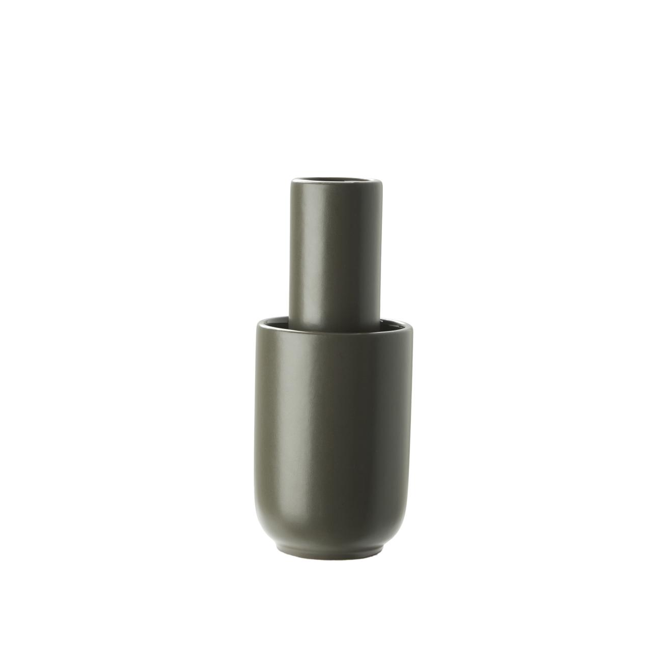Woud Amel Vas Small Taupe
