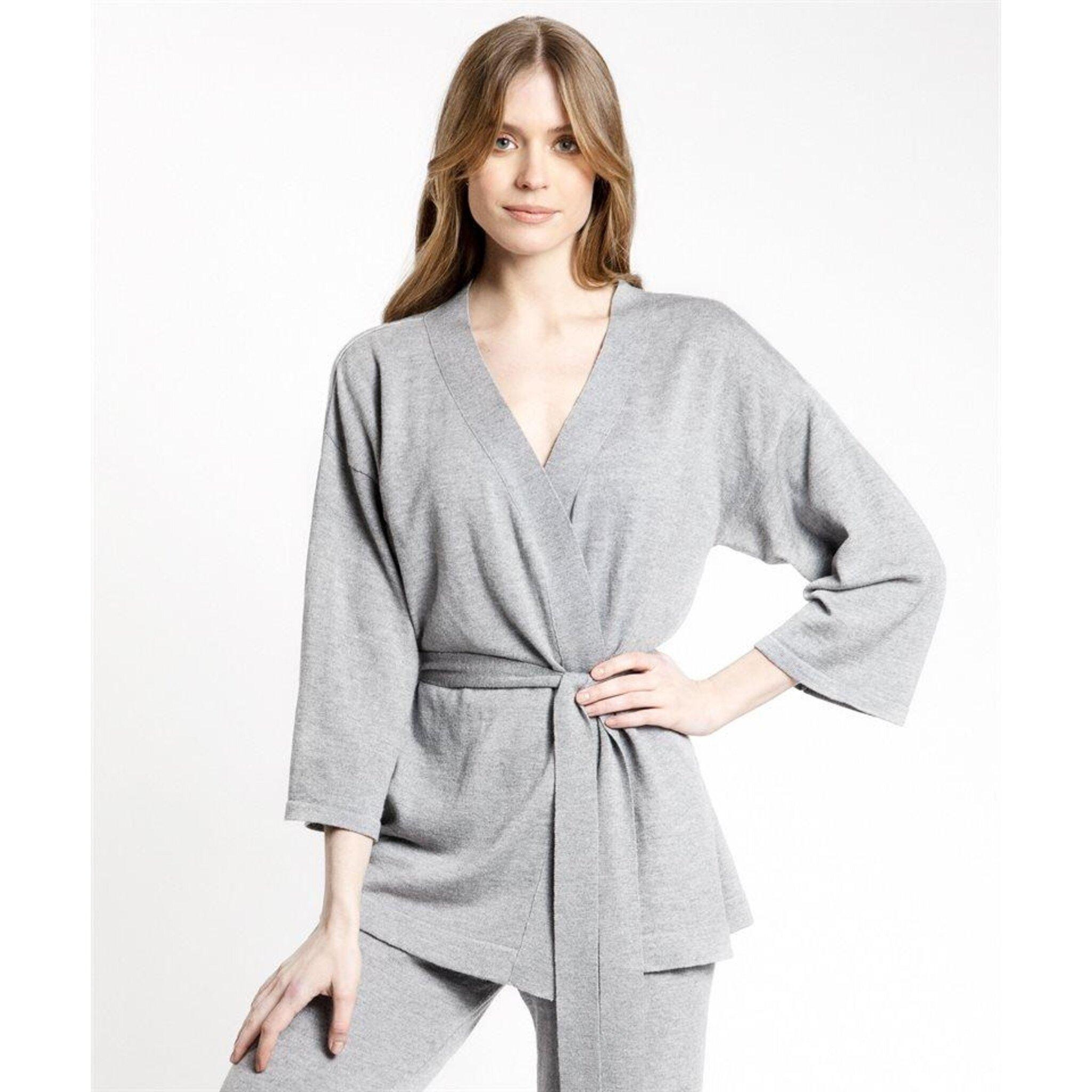 Kimono jacka i merinoull - Sassa