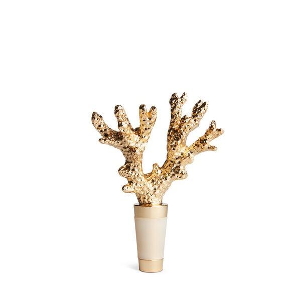 Aerin I Coral Bottle Stopper