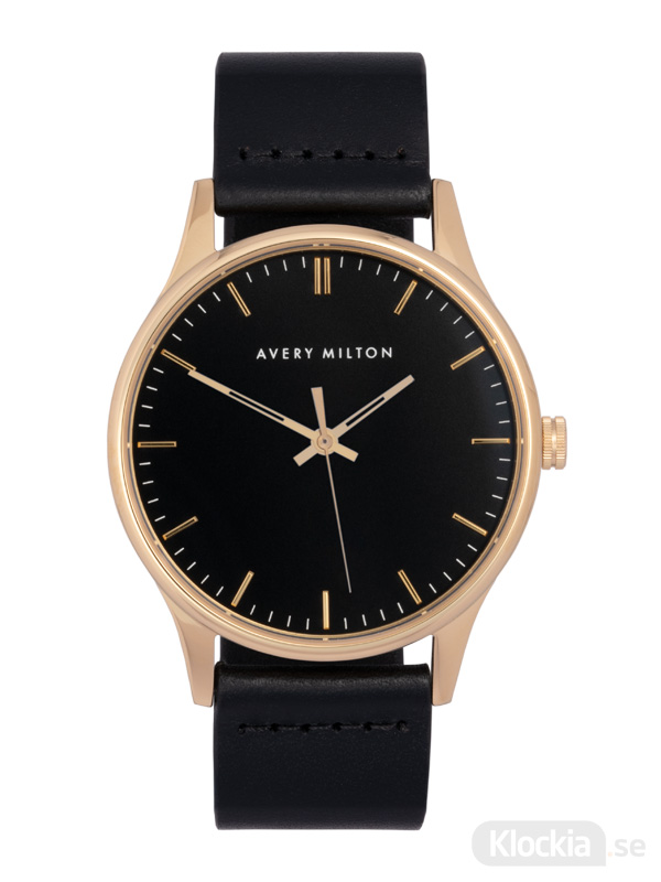 Avery Milton Como Black Gold/Black 1192401120 Unisexklocka