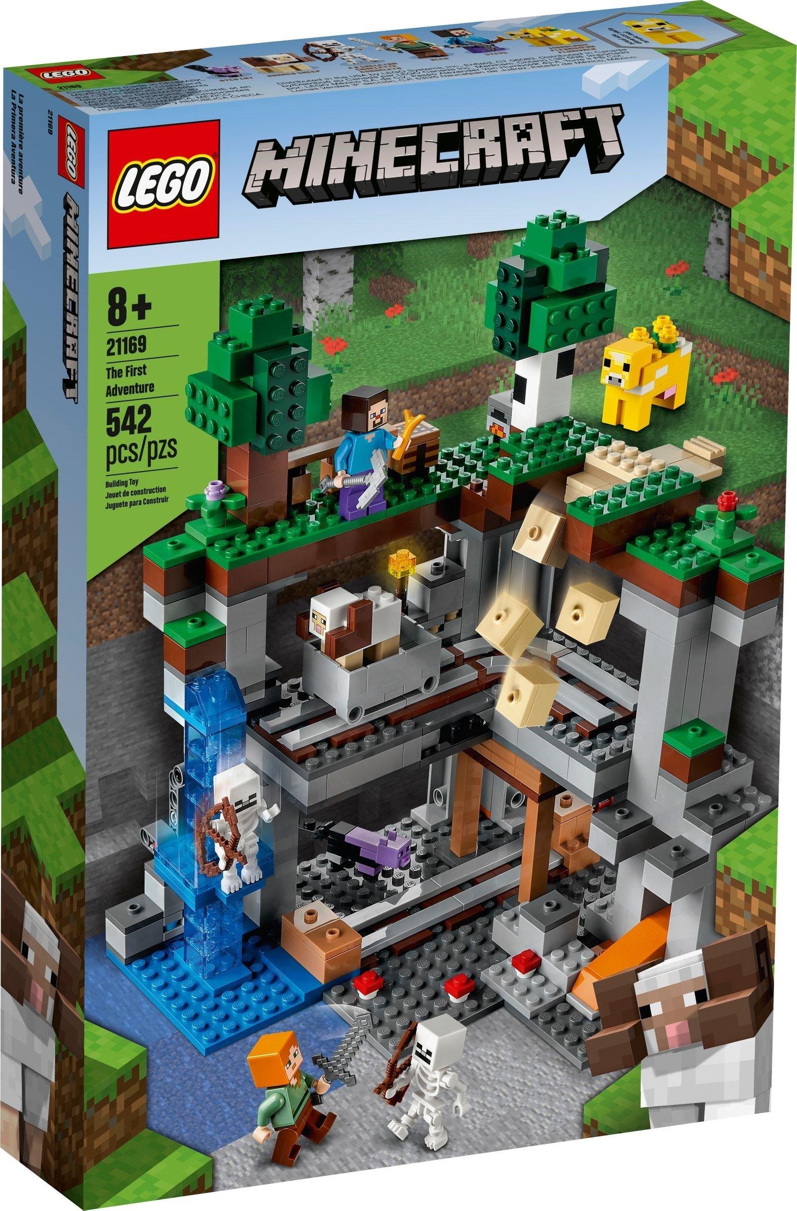 LEGO Minecraft - The First Adventure (21169)