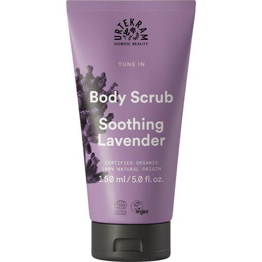 Tune In Body Scrub Organic, 150 ml Urtekram Kuorinta ja kuivaharjaus