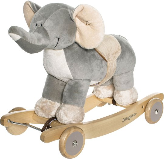 Diinglisar Wild Gyngedyr Elefant
