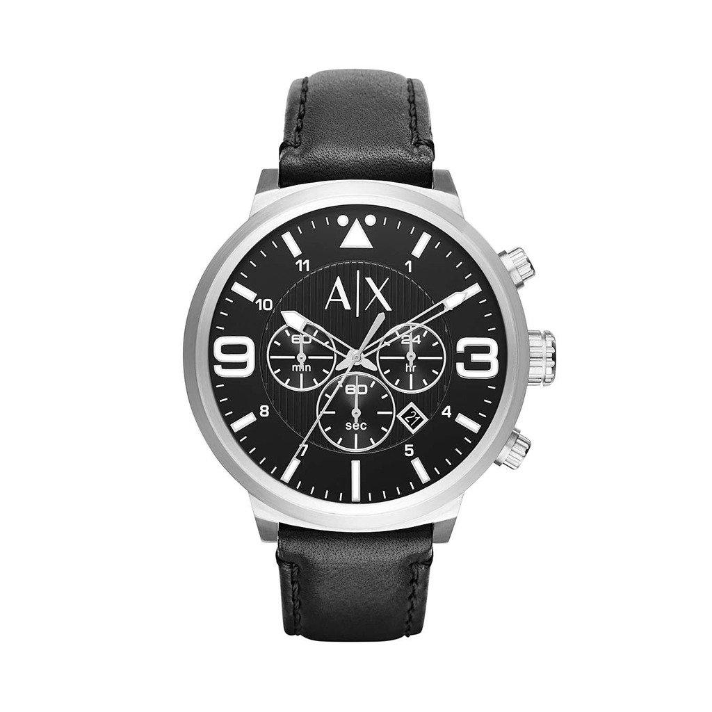Armani Exchange Men's Watch Black AX1371 - black NOSIZE