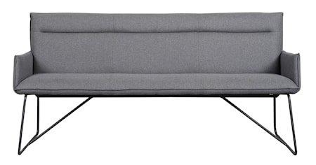 Yukon Sofa Mørkegrått stoff