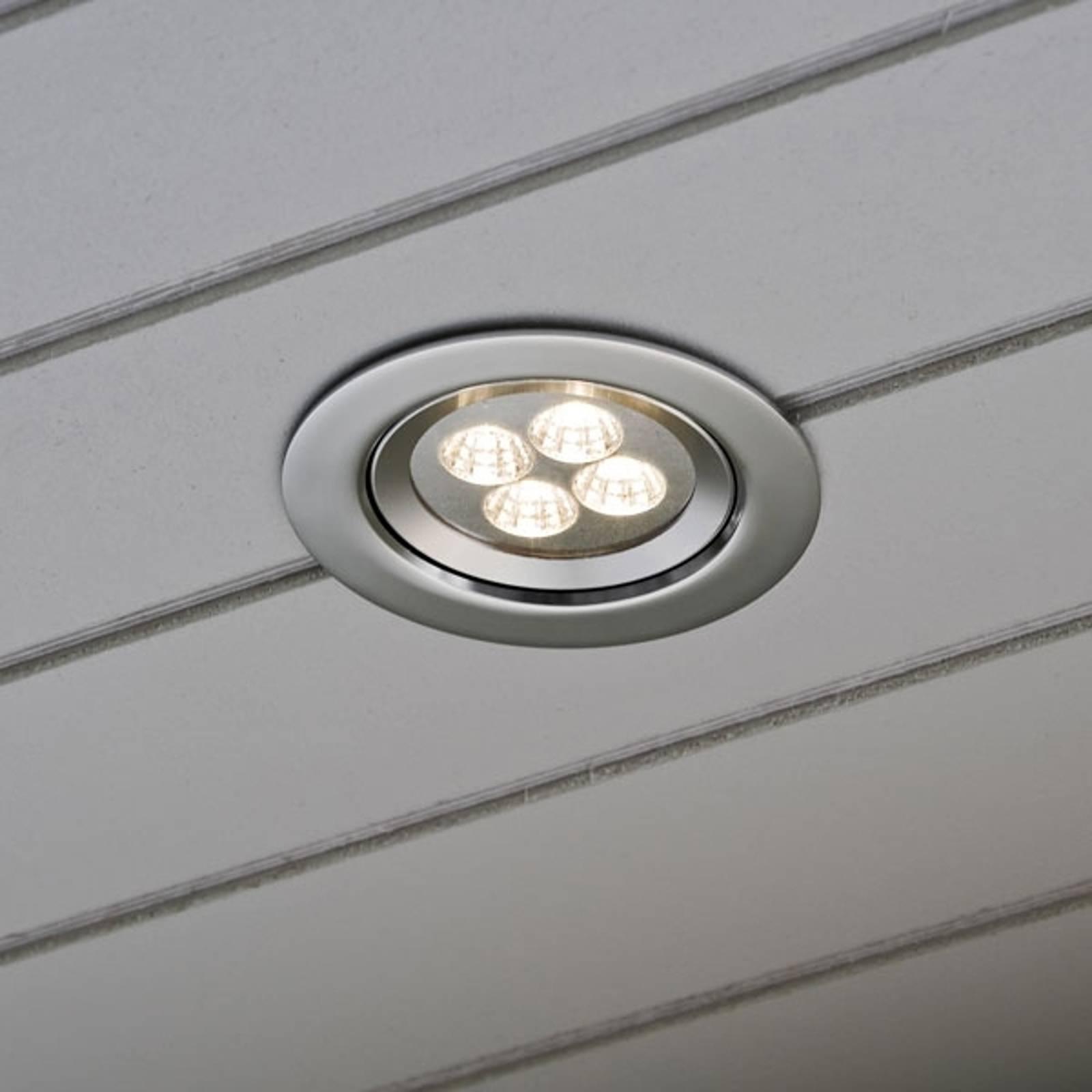 Upotettava kattovalaisin, jossa Power-LEDit