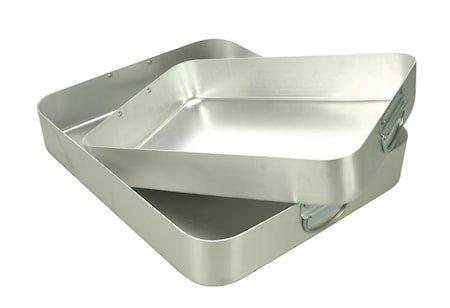 Ildfast form 38x32 cm Aluminium