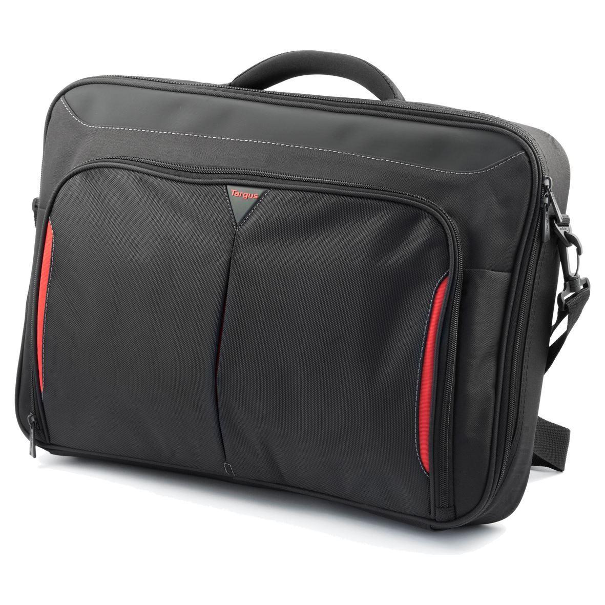 "Targus - Classic+ Clamshell Laptop Shoulder Bag 17-18"""