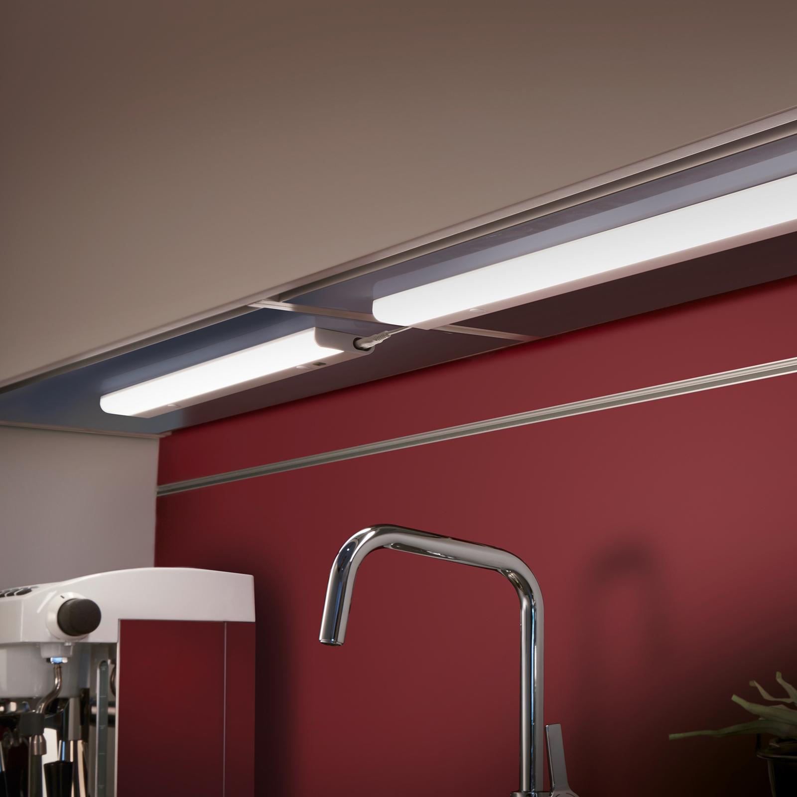 LED-kaapinalusvalaisin Simeo, 52 cm pitkä