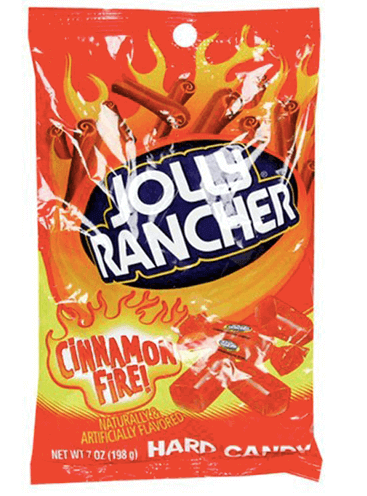 Jolly Rancher Cinnamon Fire 198g