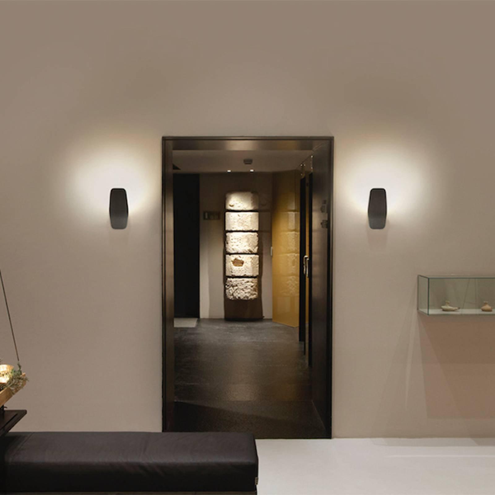 Casablanca Ashiya LED-uplight, smaragdsvart
