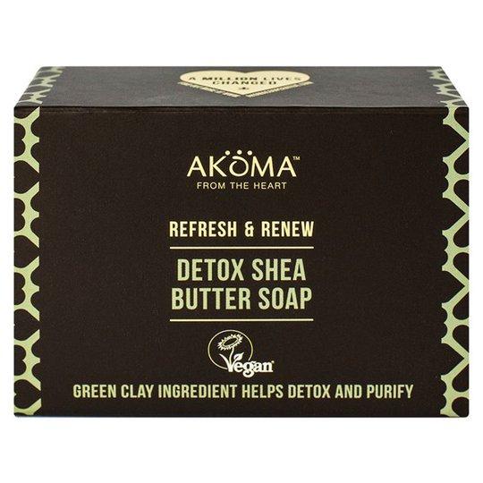 Akoma Detox Shea Butter Soap, 105 g