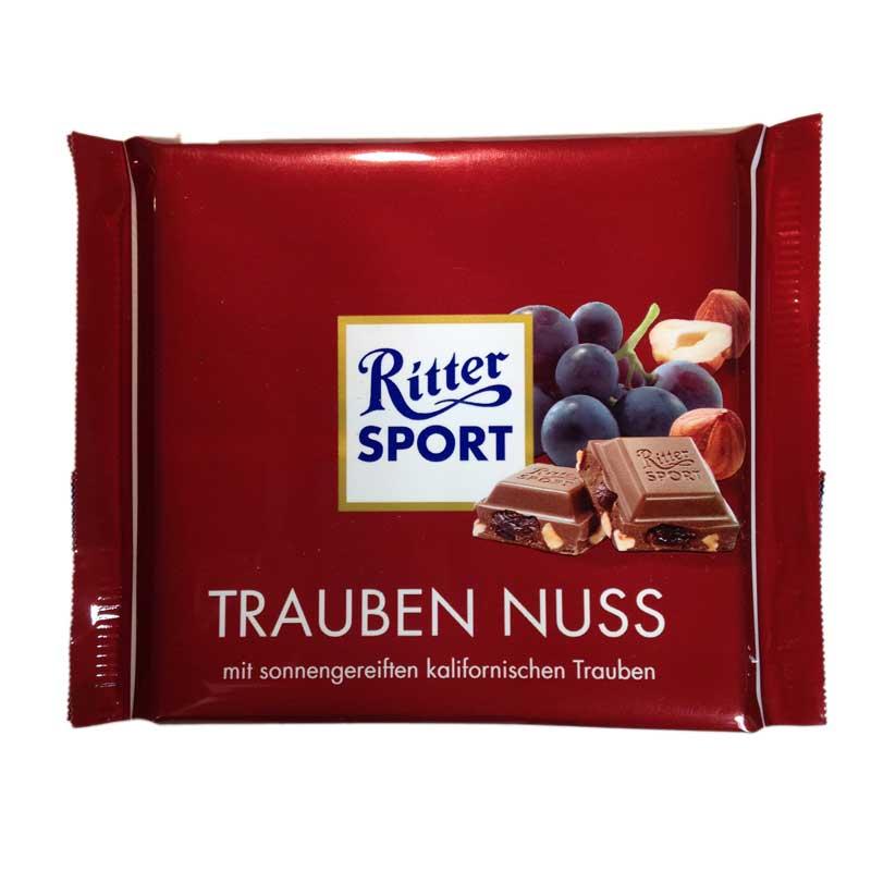 Ritter Sport Russin och nötter - 33% rabatt
