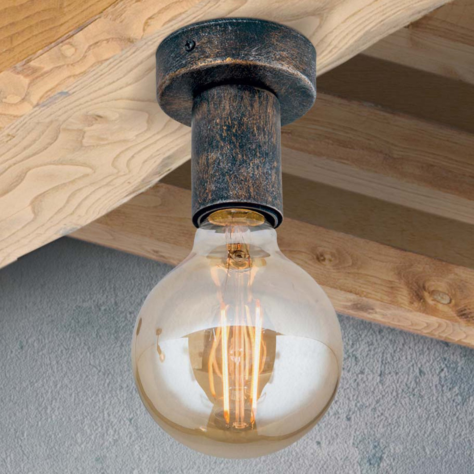 Enkel vintagetaklampe Rati