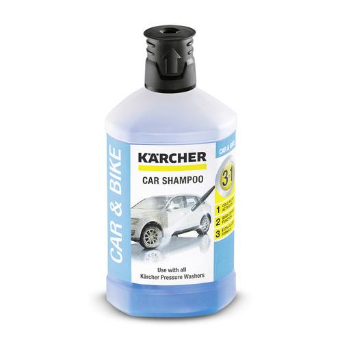 Kärcher Tvättmedel För Bil 1l 3 In 1 Högtryckstvätt