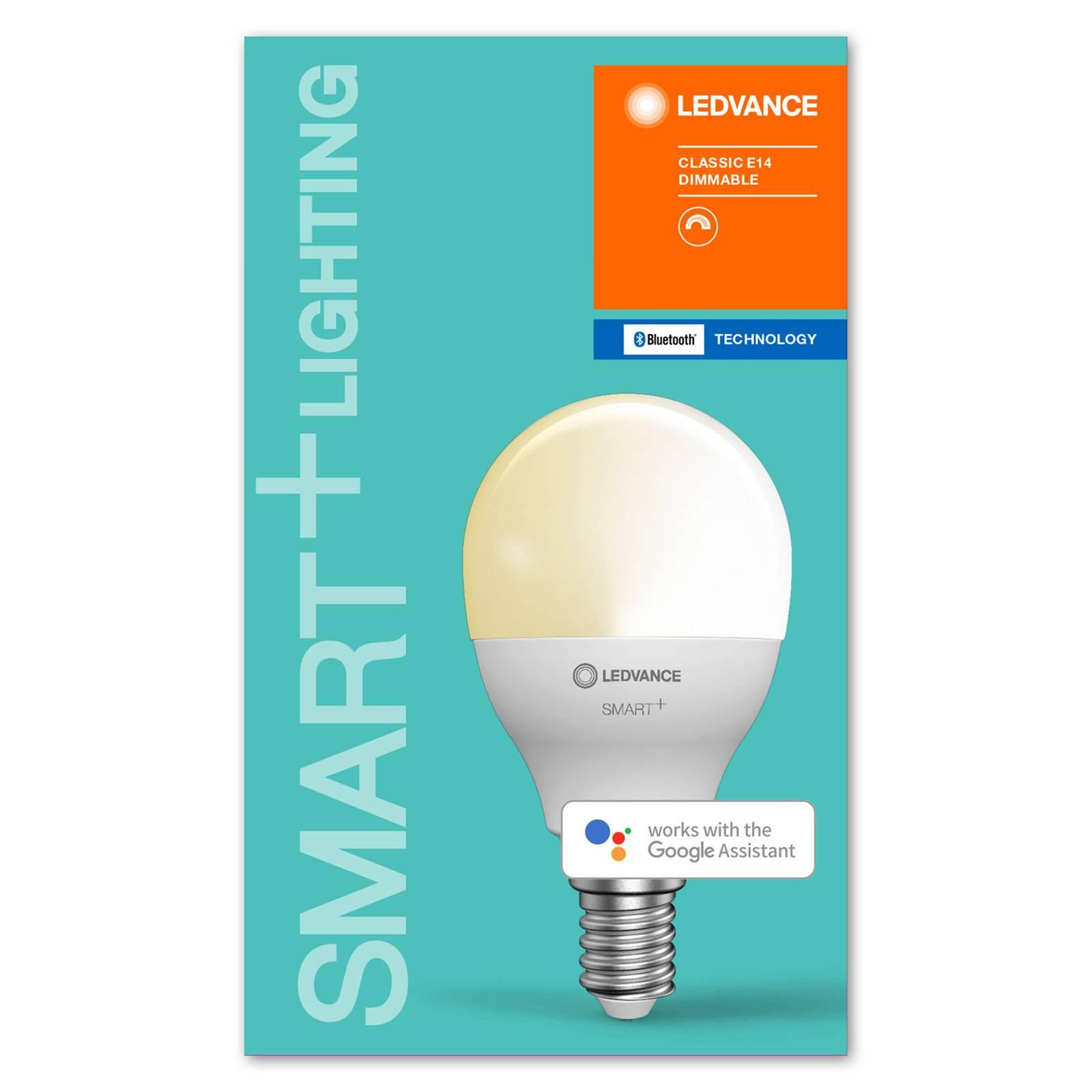 LEDVANCE SMART+ Bluetooth E14 LED pisara 5W 827