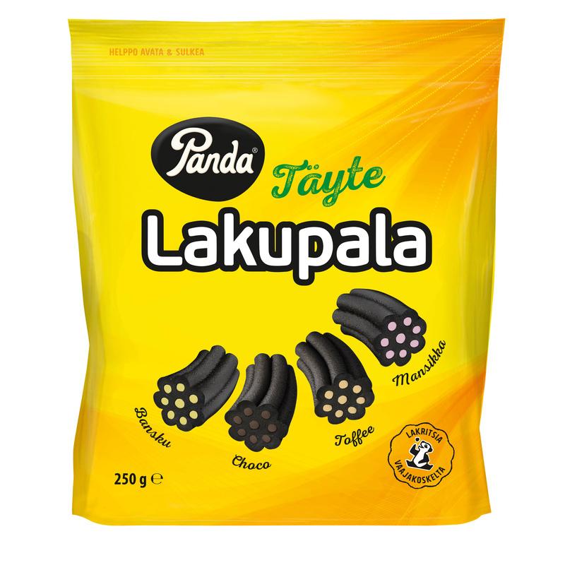 "Lakritsgodis ""Täyte Lakupala"" 250g - 35% rabatt"