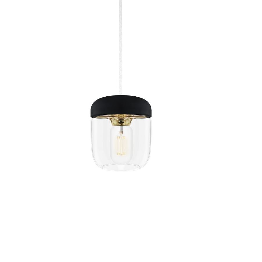 Acorn lampa black brass, VITA