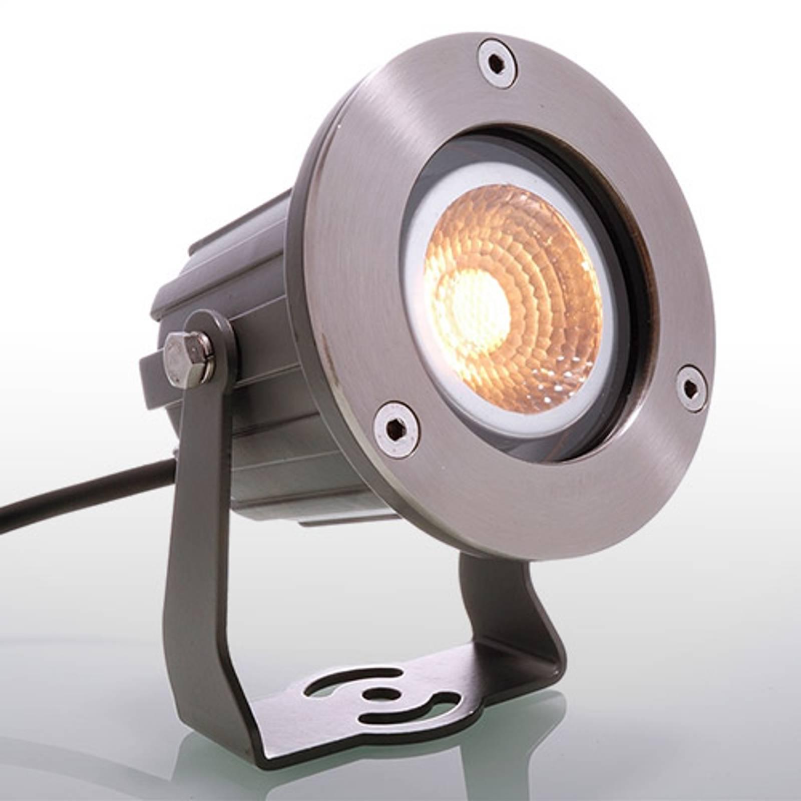 Cob Power-LED -spottivalaisin ulkokäyttöön