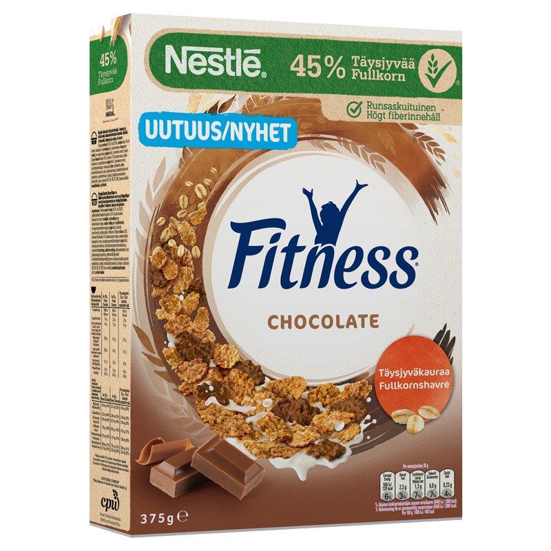 Fitness Suklaa Täysjyvähiutaleita - 20% alennus