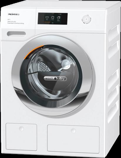 Miele Wtw 870 Wpm Xxl Kombinerad Tvätt/torkmaskin - Vit