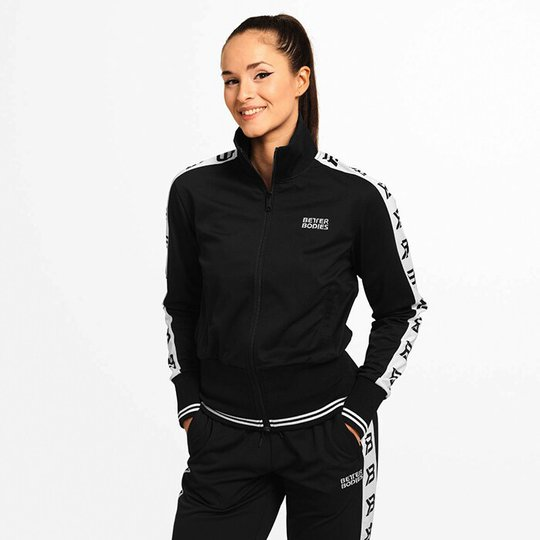 Chelsea Track Jacket, Black
