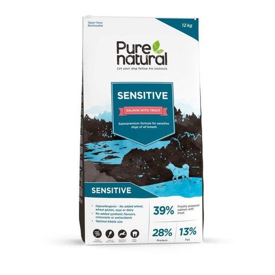 Purenatural Sensitive Salmon & Trout (12 kg)