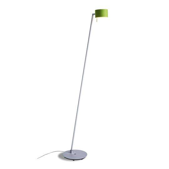 CAI LED-gulvlampe, dimbar, eple/ullhvit