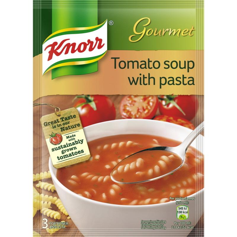 Tomatsoppa med pasta - 20% rabatt