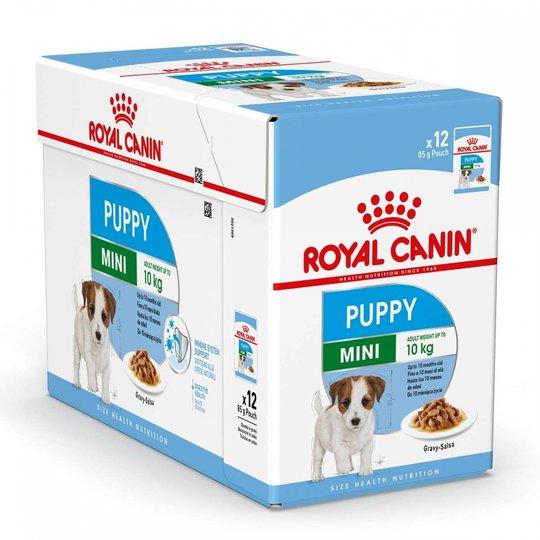 Royal Canin Mini Puppy Våtfoder (12x85g)